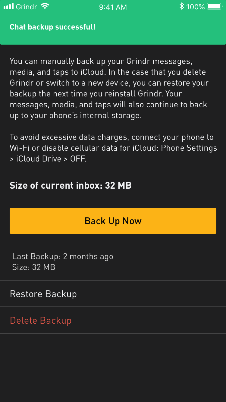 Grindr not connecting to server